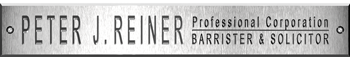 Reiner Law Toronto / Lawyer - Barrister - Solicitor